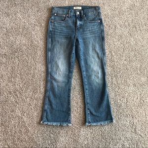 Madewell petite Cali denim-boot jeans